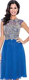 Clearance Annabelle 8529-Royal Evening Dress