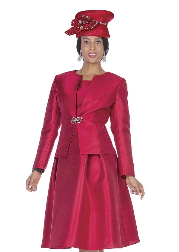 Aussie Austine 5123 Jacket & Pleated Dress Set