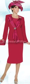 Clearance Champagne 4126 Womens Church Suits