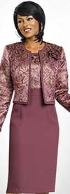 Clearance Ben Marc Executive 11474 Womens Jewel Collar Jacket & Dress Set