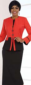 Ben Marc Executive 11586 Womens Two Piece Skirt Suit