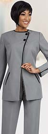 Ben Marc Executive 11611 Pant Suit For Women With Two Button Jacket