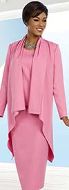 Ben Marc Executive 11626 Ladies Skirt Suit With High-Low Style Jacket