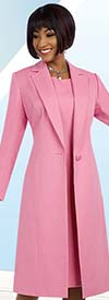 Clearance Ben Marc Executive 11632 Notch Lapel Duster Jacket & Dress Set