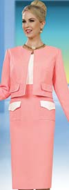 Clearance Ben Marc Executive 11525 Womens Dress & Jacket Set With Front Pocket Look