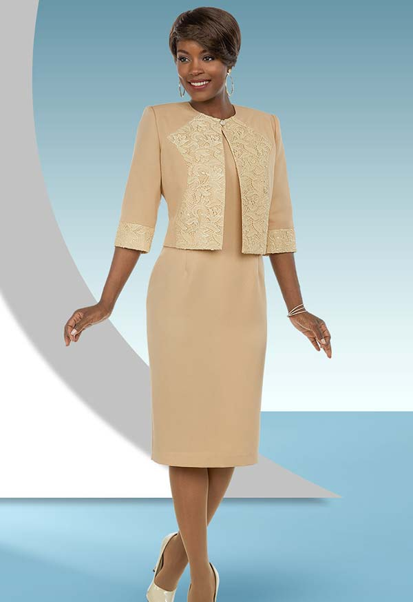 Ben Marc Executive 11691 Dress Suit With Brocade Style Accents On Jacket