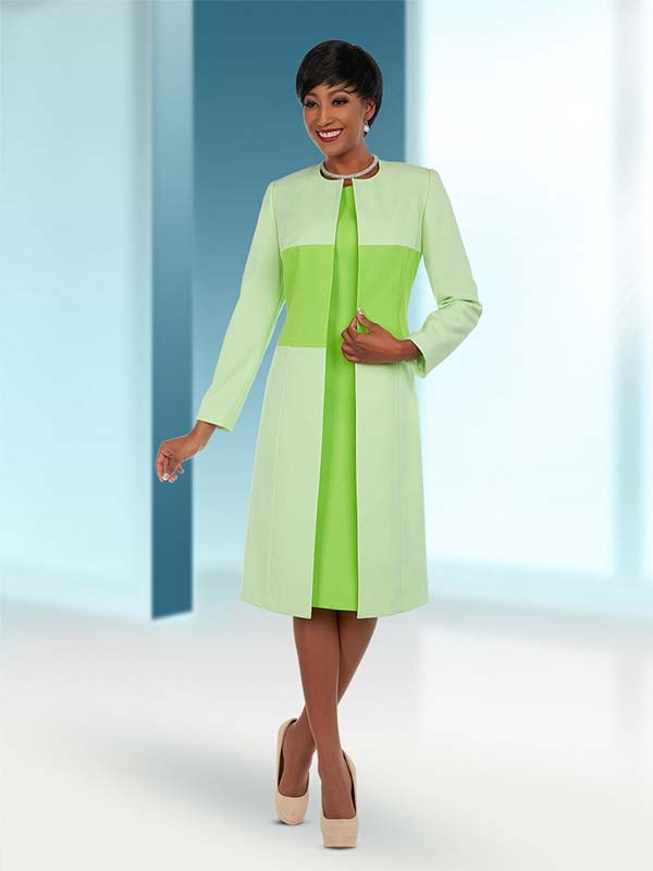Ben Marc Executive 11693 Womens Business Dress With Duster Style Jacket