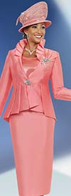 Ben Marc 48017 Womens Church Suit With Knife Pleated Jacket