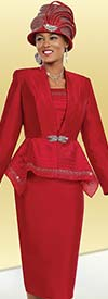 Ben Marc 48036 Womens Suit With Embellished Peplum Jacket