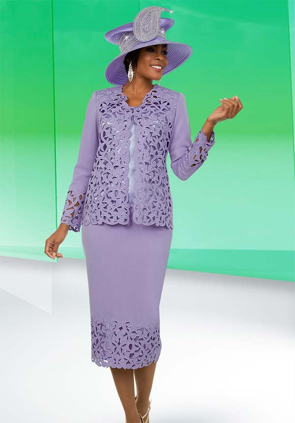 Ben Marc 48106 Womens Skirt Suit With Cut-Out Design