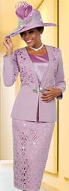 Ben Marc 48118 Womens Church Suit With Cut-Out Pattern