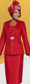 Ben Marc 48132 Womens Church Suit With Cut-Out Design