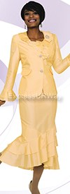Clearance Ben Marc Mystique 62012-Yellow Womens Suits