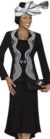 Champagne 4804 Ladies Skirt Suit For Church