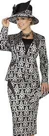 Champagne 4807 Elaborate Design Suit For Women