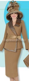 Champagne 4205 Womens Church Suits