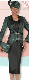 Champagne 4208 Womens Church Suits