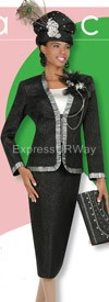 Champagne 4211 Womens Church Suits