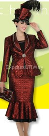 Champagne 4219 Womens Church Suits