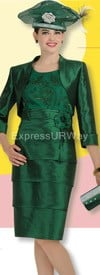 Clearance Champagne 4417 Womens Church Suits