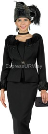 Champagne 4111 Womens Church Suits