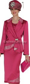 Champagne 4207 Womens Church Suits
