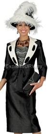 Champagne 4411 Womens Church Suits
