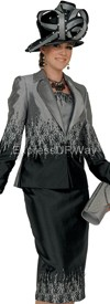 Champagne 4412 Womens Church Suits