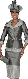 Clearance Champagne 4416 Womens Church Suits