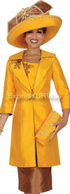 Champagne 4418 Womens Church Suits