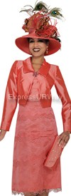 Champagne 4419 Womens Church Suits
