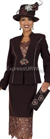 Champagne 4602 Womens Church Suits