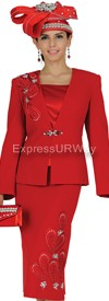 Champagne 4603 Womens Church Suits