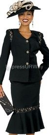 Champagne 4605 Womens Church Suits