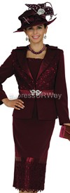 Clearance Champagne 4606 Womens Church Suits