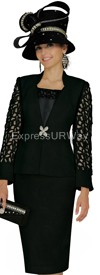 Champagne 4607 Womens Church Suits