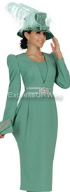 Clearance Champagne 4609 Womens Church Suits