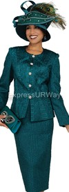 Champagne 4610 Womens Church Suits
