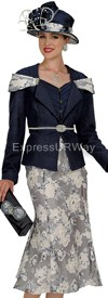Champagne 4616 Womens Church Suits