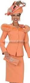Champagne 4617 Womens Church Suits