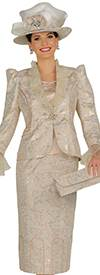 Champagne 4806 Womens Church Suits