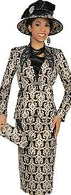 Champagne 4807 Womens Church Suits