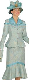 Champagne 4809 Womens Church Suits
