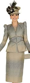 Champagne 4813 Womens Church Suits