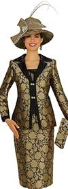 Champagne 4818 Womens Church Suits