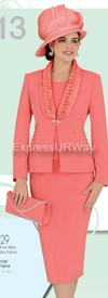 Clearance Champagne 4129 Womens Church Suits