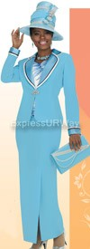Champagne 4304 Womens Church Suits