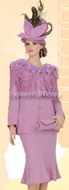 Champagne 4305 Womens Church Suits