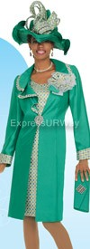 Champagne 4319 Womens Church Suits