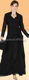 Champagne 4431 Womens Church Suits